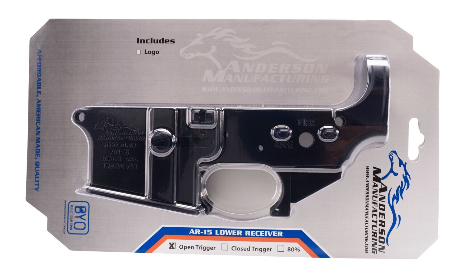 Anderson Rifle AR-15 STRIPPED LOWER RECEIVER