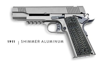 U.S. Patriot 80% 1911 Government Full Size .45 ACP Pistol Kit - Shimmer Aluminum - Add a Stealth Arms 1911 Jig For $99 With Order....