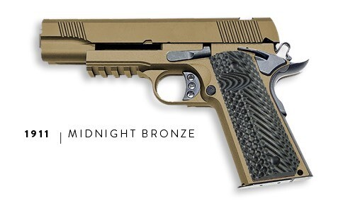 U.S. Patriot 80% 1911 Government Full Size .45 ACP Pistol Kit - Midnight Bronze - Add a Stealth Arms 1911 Jig For $99 With Order....