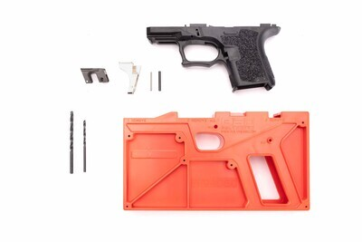 PF940SC 80% SUBCOMPACT FRAME KIT - BLACK - ADD GLOCK 26 LOWER PARTS KIT FOR $29.99