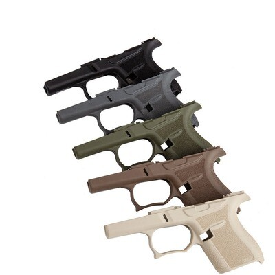Glockstore SS80 Light Gray Glock 43 80% Frame with Jig Kit - ADD GLOCK 43 LOWER PARTS KIT FOR $49.99