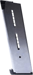 1911 Stainless Steel Full Size Magazine - .45 8RD Lo-Profile Steel Pad