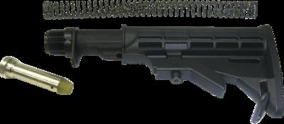 Leapers UTG Model 4/15 4-position Carbine Stock (New Reinforced Design!!) - Black