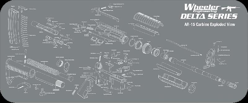 AR Maintenance Mat - Wheeler