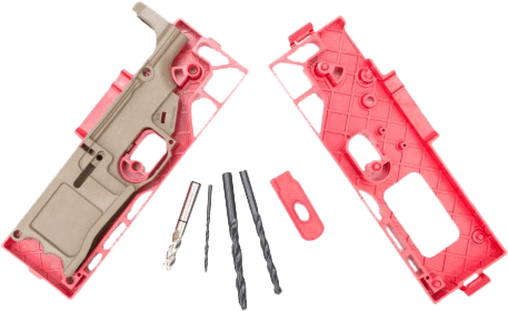 Polymer80 308 - 80% Lower Receiver and Jig System - FDE