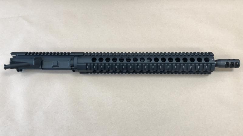 """Jigsaw AR-15 5.56 - 1/8 Twist Quad 15"""" No BCG & Charging Handle"""