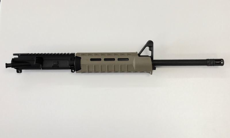 7.62X39 1:10 Complete Upper w/ Front Sight Base Magpul Moe SL Hand Guard FDE