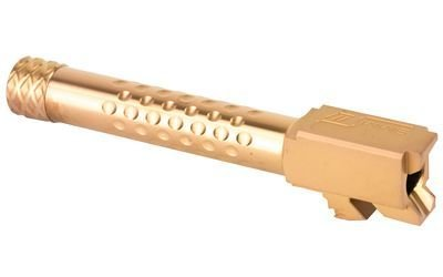 ZEV Dimpled Barrel for G19 - 9mm - Threaded - Bronze