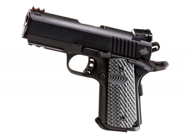 "Sale 🇺🇸 80% 1911 Ultra Compact Size  .45 ACP 3.5"" Build Kit w/ G10 VZ Grips"