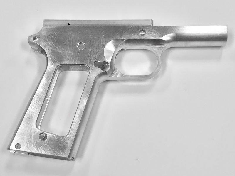 1911 80% .45 Government Full Size Frame - 70 Series - Aluminum