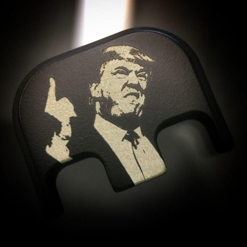 Traditional President Trump -Black Cerakoted Stainless Steel