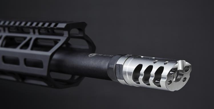 5.56 / 223 Cal V.P.R. Muzzle Brake - Stainless Steel
