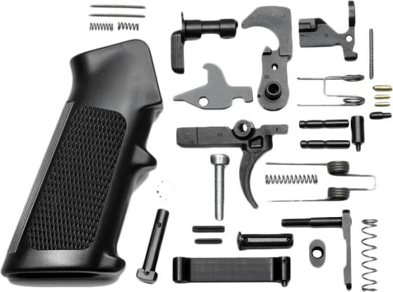Anderson 5.56/.223 Lower Parts Kit - Hammer & Trigger - Black