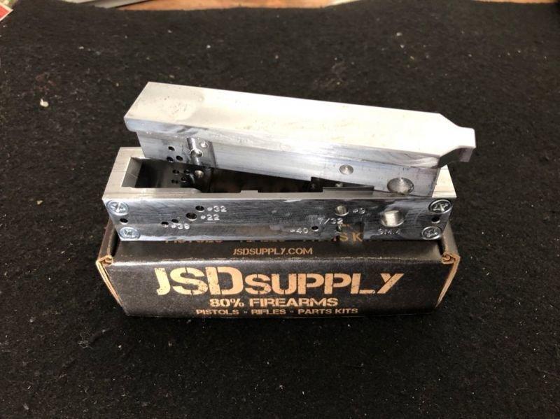 80% Sig Sauer Jig - P320 Compatible - MUP 1   2 -6 WEEK SHIP TIME