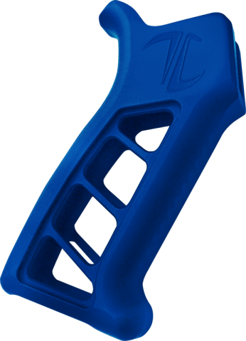 Enforcer AR-15 / AR-10 Pistol Grip E ARPG - Blue Anodized Clear Coat