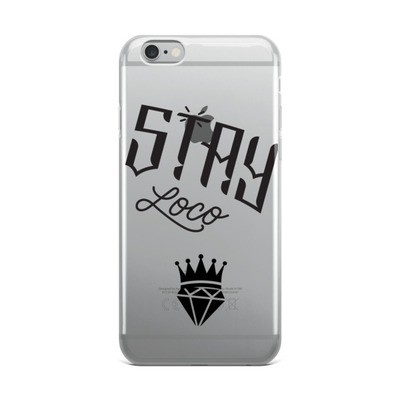 King/Queen of Diamonds StayLoco iPhone Case Black Font