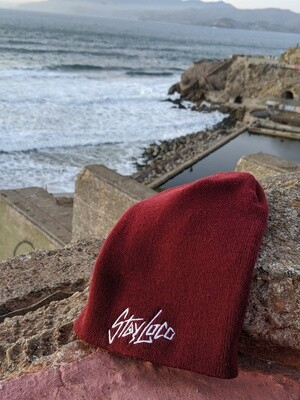 LIMITED StayLoco Tall Maroon Beanie