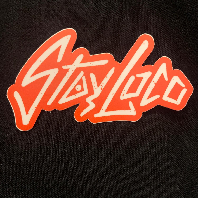 StayLoco Sticker