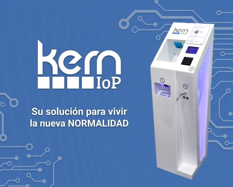Sistema Integral de control de acceso - Kern IoP by PM Tec Engineering