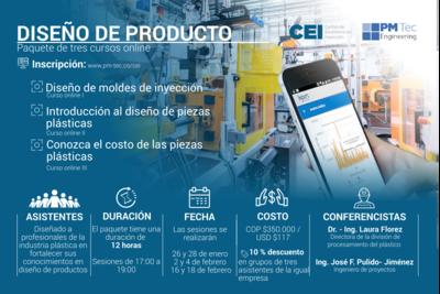 Inscripción a paquete de cursos online: Diseño de producto DESCUENTO POR TRES PARTICIPANTES (Enero- febrero)