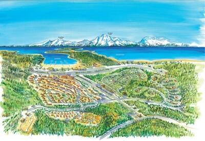 Colter Bay Village Resort Map