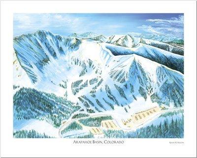 Arapahoe Basin Art Poster