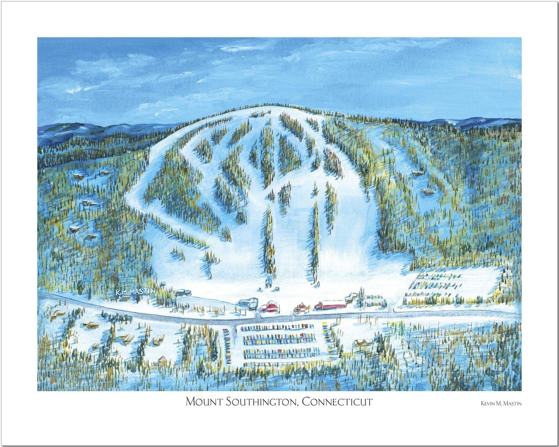 Mount Southington Connecticut Art Poster