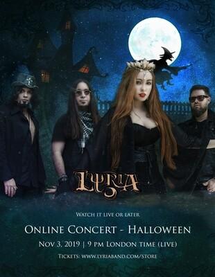 Lyria - Show online de Halloween