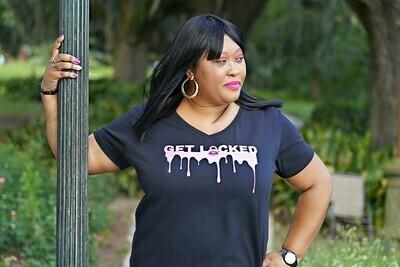 Get Locked T-Shirt Size Large