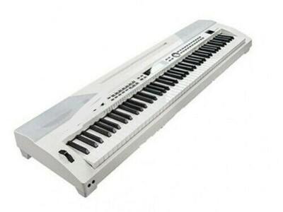 Luna Stage Piano Weiß