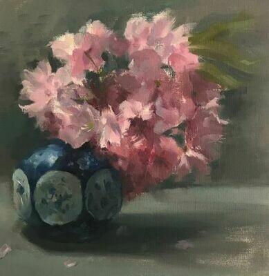 Cherry Blossom - Single Card