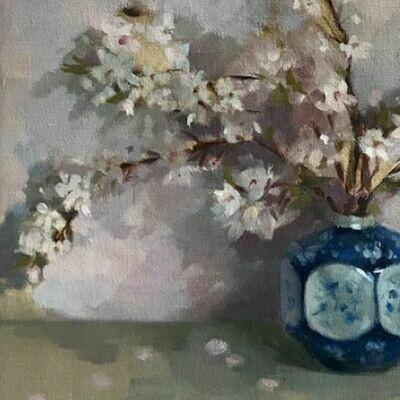Cherry Blossom & Ceramic - Single Card