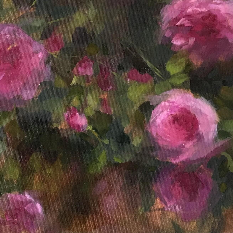 Garden Roses, Series I - Single Card