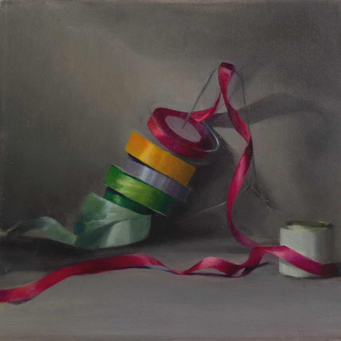 Hanging by a Ribbon, Giclee Print