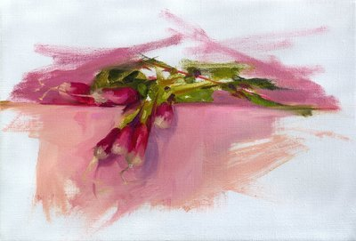 Ravishing Radishes, Giclee Print