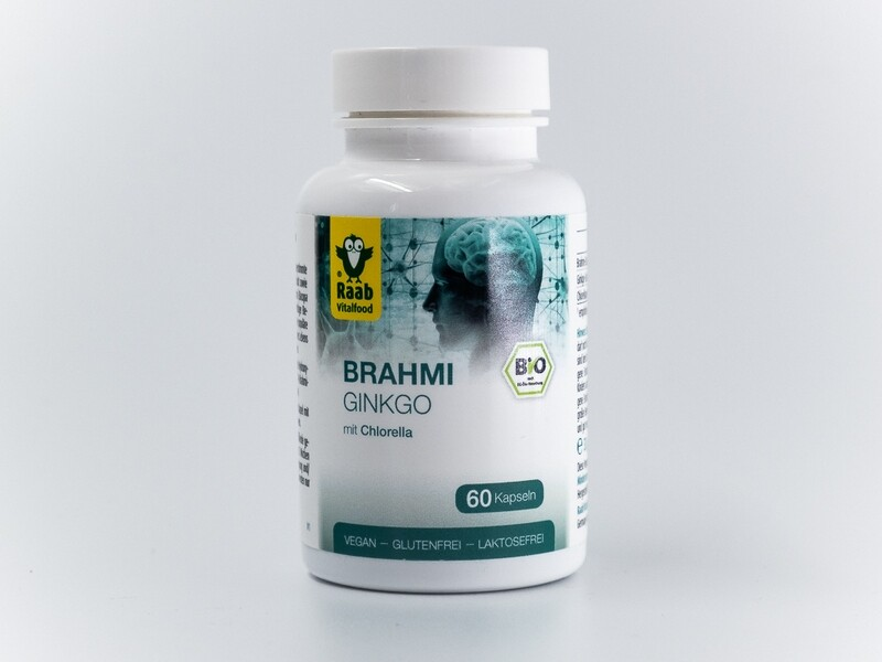 Bio Brahmi - Ginkgo – Kapseln