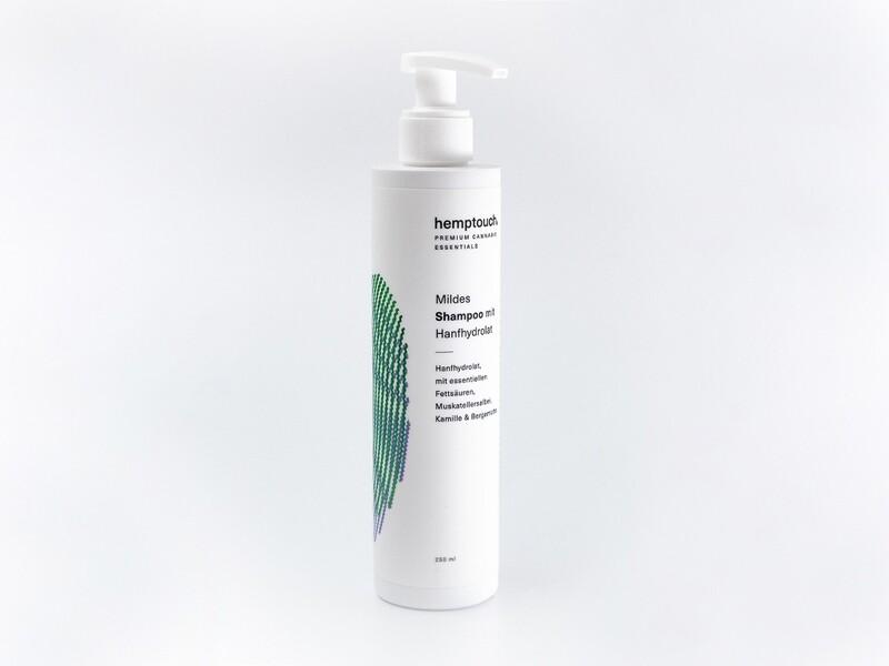 Hemptouch - Mildes Shampoo mit Hydrolat 250ml