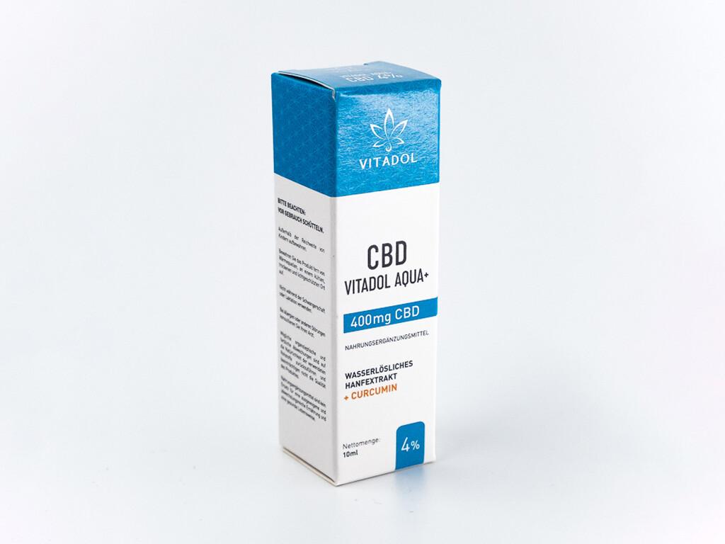 Vitadol Aqua+ 4% CBD Öl