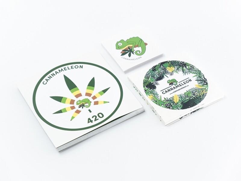 Cannameleon Sticker