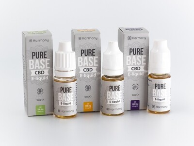 Harmony Pure Base 100mg, 300mg und 1000mg CBD