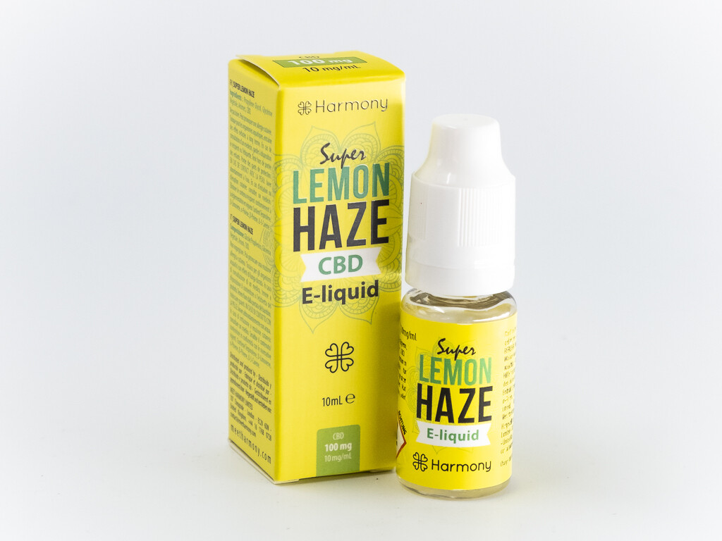 Harmony Super Lemon Haze 100mg und 300mg CBD