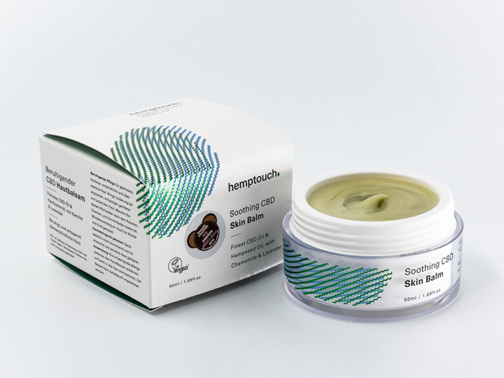 Hemptouch - Beruhigender CBD Hautbalsam