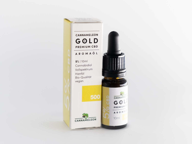 Cannameleon Gold - CBD Öl 5%