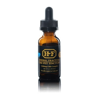Pet Tincture (Cod Oil/Flavorless) Isolate 1200 mg