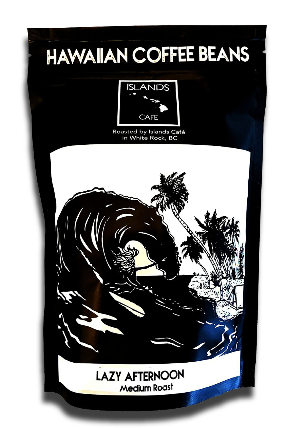 8 oz. Lazy Afternoon Medium Roasted Hawaiian Coffee