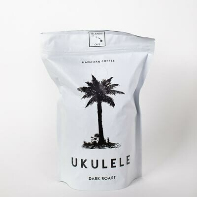 8 oz. Ukulele Dark Roasted Hawaiian Coffee