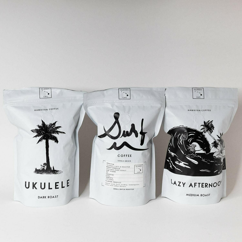Variety Pack! 3 bags of premium fresh roasted coffee
