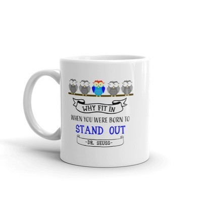 Why Fit In - Mug