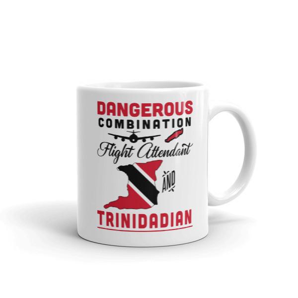 Dangerous Combination - Flight Attendant And Trinidadian - Mug