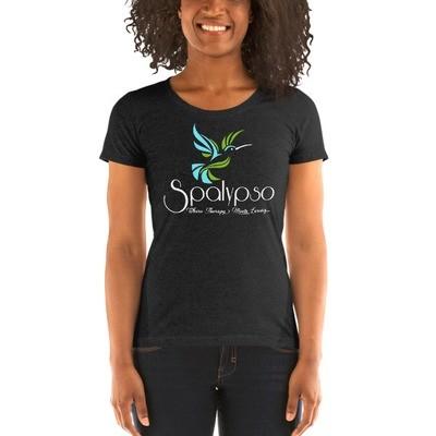 Spalypso White Print - Ladies' Short Sleeve T-Shirt
